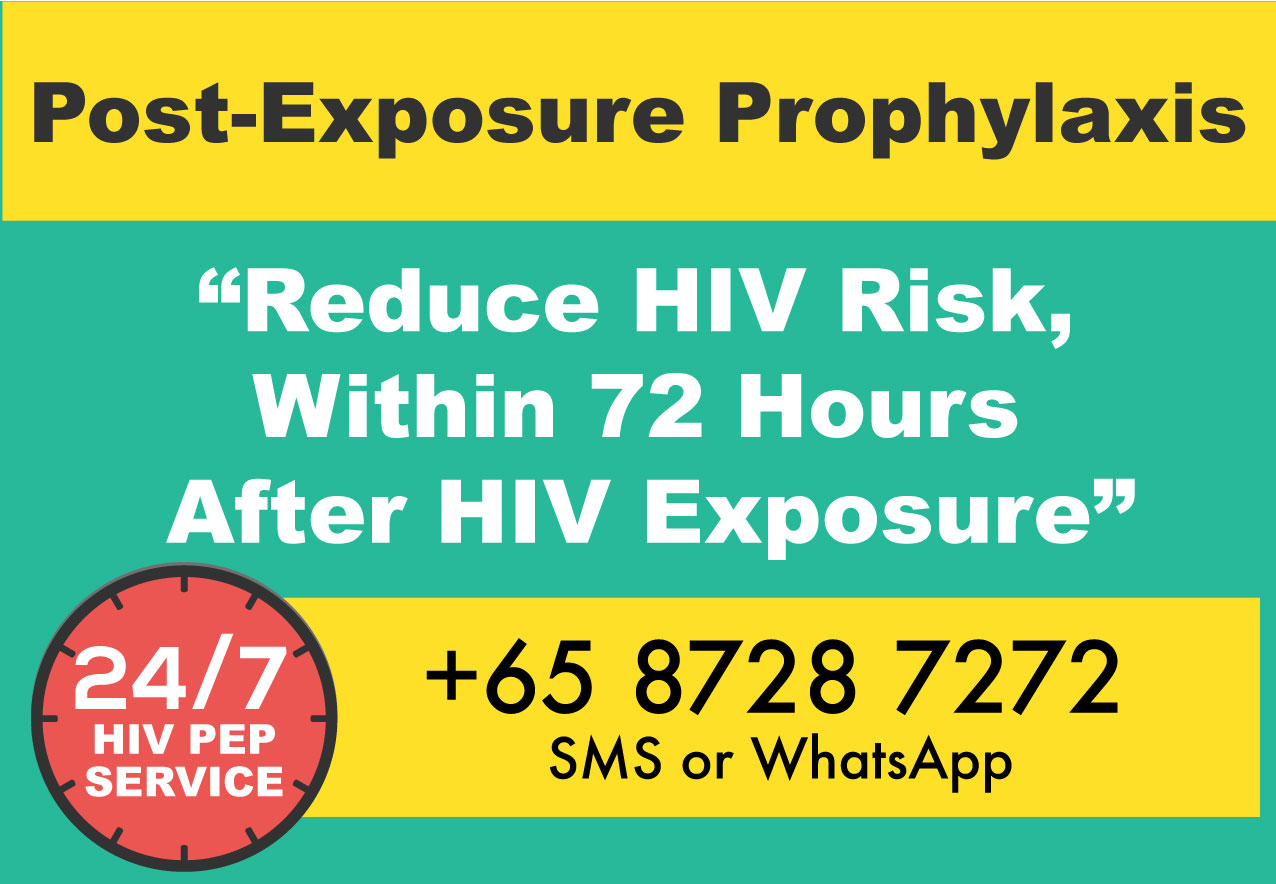 HIV Post Exposure Prophylaxis (PEP) Singapore | HIV PEP